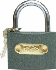 Vorel Kłódka Żeliwna szara w pudełku 50mm 77053