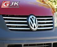 CRONI VW T5 2004-2009 Nakładki na grill stal połysk VW02G
