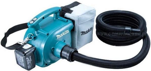 MAKITA Akumulatorowy odsysacz pyłu / dmuchawa BVC350Z bez akumulatora i bez łado