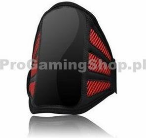 QualityAcessories Torba na ramię na smartfonie, czarny/czerwony