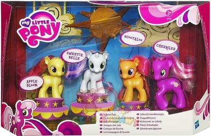 Hasbro My Little Pony - Koleżanki ze szkoły - zestaw kucyków 37435 36039