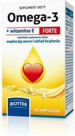 Diagnosis Omega-3 z witaminą E Forte 60 szt.