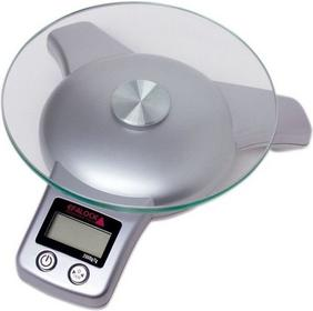 Efalock elektroniczna waga fryzjerska srebrna
