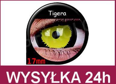 Maxvue Vision Crazy Wild Eyes -Tigera 2 szt.