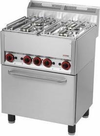 Red Fox Kuchnia gazowa z elektrycznym piekarnikiem KSPT - 66 GE