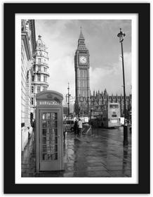 Feeby Big Ben, Obrazy w ramie - Czarny