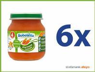 BoboVita (Nutricia) Pierwsza łyżeczka Marchewka po 4 miesiącu ZESTAW 6x125g