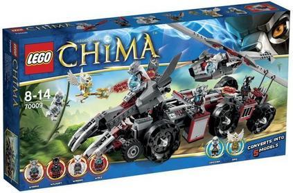 LEGO Chima Pojazd Worriz 70009