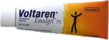 Novartis Voltaren Emulgel 1% 100 g