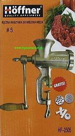 Hoffner Hoffman Maszynka do mięsa HF-2505