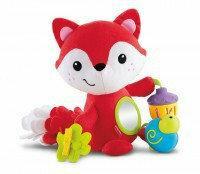 Fisher Price Mattel Lisek z Zabawkami CDN56