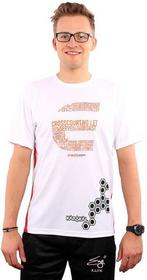 Karakal T-shirt Pro Cool-Tec T-Shirt Biała 2015 LTD