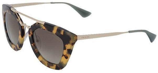 Prada Okulary przeciwsłoneczne brązowy/green 0PR 09QS