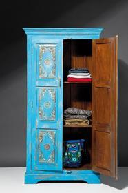 Kare Design Szafa Taberna (niebieska) 76923