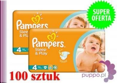 Pampers Sleep&Play 4 Maxi 100 szt.