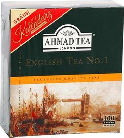 Ahmad Levant TEA 100x2g English TEA No.1 herbata czarna + Kalendarz