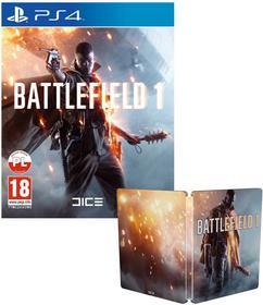 BATTLEFIELD 1 Pakiet Wojownika + Steelbook PS4