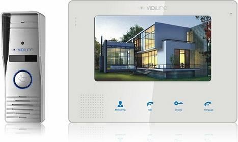 VIDILINE VIDI-MVDP-7 Zestaw wideodomofonowy IP Kamera 1280x720 Monitor głośnomów