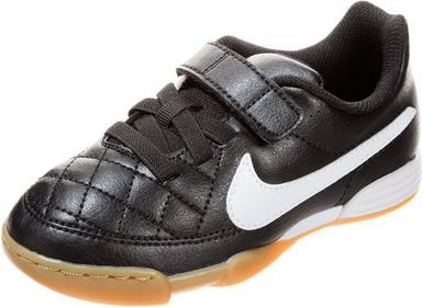 Nike Performance JR TIEMPO V4 IC Halówki czarny N1243A0CI-Q11