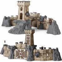 Schleich Wielki zamek rycerski z 2 figurkami 42102