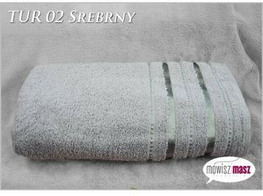 Ręcznik 70x140 Kąpiel. Bawełna TUR 02 Srebrny 30575