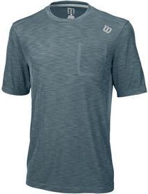 Wilson koszulka tenisowa męska T-SHIRT TEXTURED CREW WRA731005