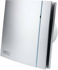 Venture Cichy Wentylator łazienkowy Silent Silver Design 100 CRZ Timer