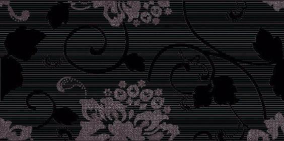 Paradyż Secret Dekor 29,5x59,5 Czarny Inserto A
