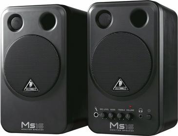 Behringer MS16 - para monitor estradowyów pasywnewnych