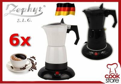 Zephyr Kawiarka ELEKTRYCZNA ekspres DO kawy 300ml 6 filizanek