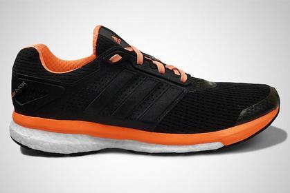 Adidas Glide Boost 7 B34821 czarno-pomarańczowy