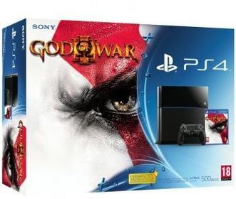 Sony PlayStation 4  500GB + God of War 3 PS4