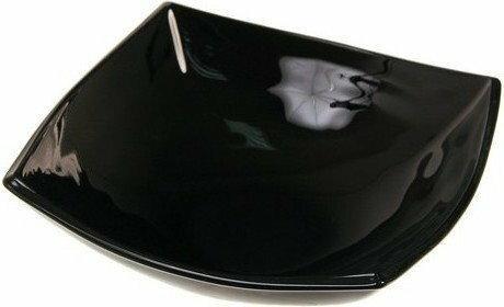 Luminarc Talerz głęboki czarny Quadrato 20 cm