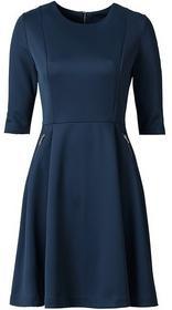 Bonprix Sukienka neoprenowa niebieski 922722