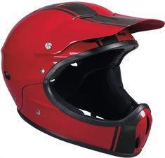 kask rowerowy PROTEC Ace Spade metallic red