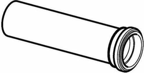 Geberit Przedłużka rury dopływowej do muszli wiszących, d45 361.887.16.1