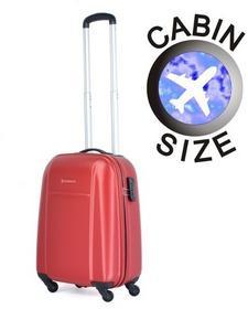 Puccini Mała walizka ABS02 C czerwona ABS02 C 3 czerwony