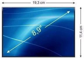 Whitenergy matryca LCD, podś. LED, 8.9 1024x600, 40pin, gloss 05194