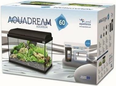 Zooplus Zestaw akwariowy Aquatlantis Aquadream 60 - Czarny