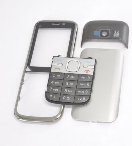 Nokia 2113# OBUDOWA PANEL C5 CZARNA + KLAWIATURA