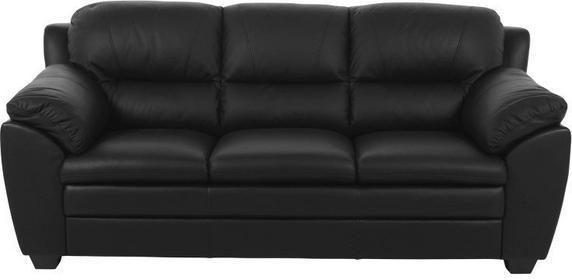 Sofa Ziva, 94x200 cm, czarny, skóra ekologiczna-Actona Company (0000043961)