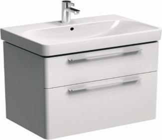 Koło Szafka pod umywalkę TRAFFIC 71,8 x 62,5 x 46,1 cm, wisząca, biały połysk 8