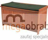 Hecht Ławka ogrodowa ze schowkiem Toybox