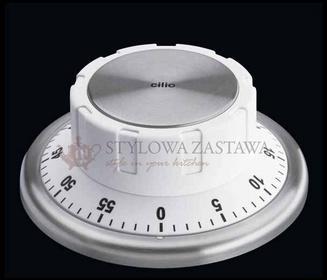 Cilio minutnik 60 min. z magnesem, biały CI-294569