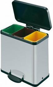 B2B Partner Kosz z pedałem do segregacji odpadów Trento öko 3x11 172040
