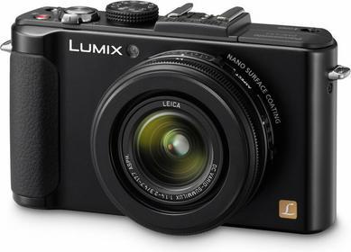 Panasonic DMC-LX7 3D czarny