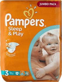 Pampers Sleep&Play 3 Midi 156 szt.