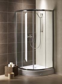 Radaway Premium Plus A 90x90 szkło przejrzyste