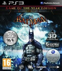 Arkham Asylum Game Of The Year Edition PS3