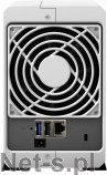 Synology DS215j 2-Bay SATA 3G, 800MHz, 512M RAM, 1x GbE LAN, 1xUSB2, 1xUSB3